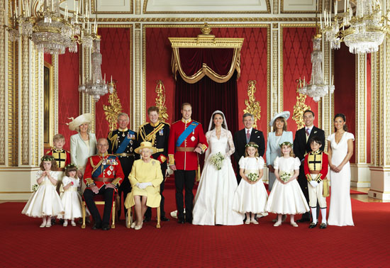 The Royal Family official portrait