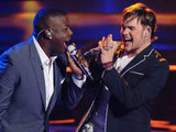 American Idol 270411: Jacob Lusk and James Durbin