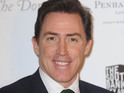 Rob Brydon jokes that he spent the actress's lunch money on sweets.