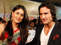 Kareena Kapoor and Saif Ali Khan have a registry marriage ceremony.