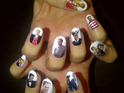 Katy Perry tweets her congratulations to Prince William and Kate Middleton with some royal wedding-themed nails.
