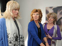 Rula Lenska reportedly films her final scenes as Coronation Street's Claudia Colby.