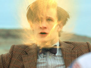 Doctor Who S06E01 - The Doctor begins to regenerate