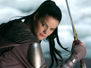 Thor: Sif played by Jaimie Alexander