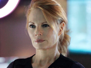 Catherine Willows (Marg Helgenberger) from 'CSI: Crime Scene Investigation'