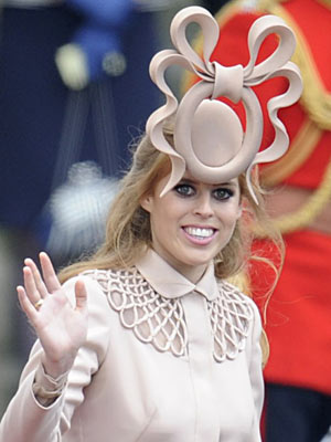 Princess Beatrice at the Royal Wedding