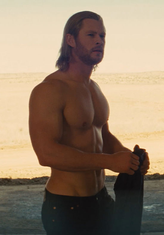 chris hemsworth thor shirtless. Chris Hemsworth in #39;Thor#39;
