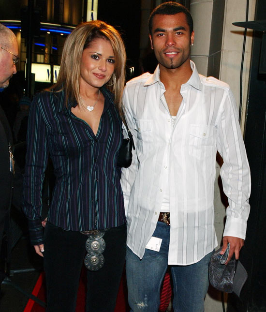 Cheryl Tweedy and Ashley Cole