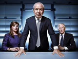 Karen Brady, Lord Sugar and Nick Hewer from 'The Apprentice'