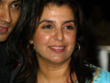 Farah Khan says that she hopes her debut film as an actor will be well-received by audiences.