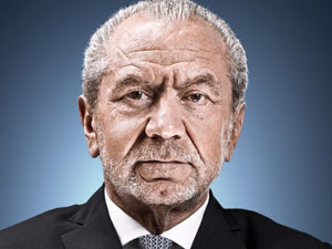 Lord Sugar from 'The Apprentice'