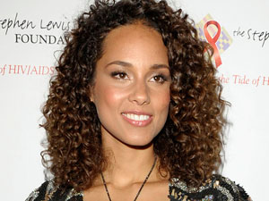 Alicia Keys at the Stephen Lewis Foundation's Hope Rising! Benefit Concert in Toronto