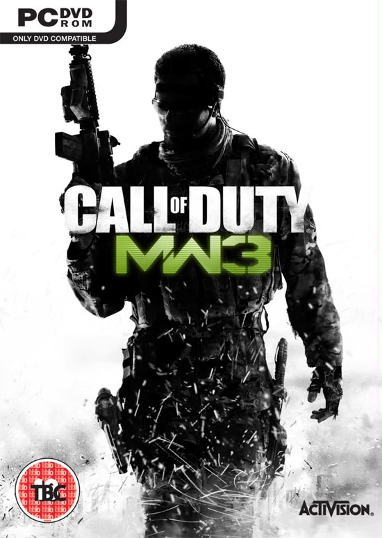 Modern Warfare 3 Cover