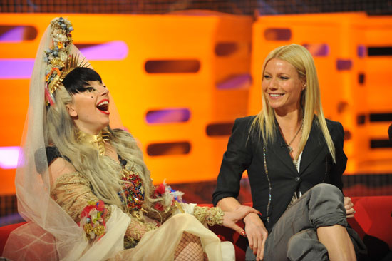 Gaga and Paltrow