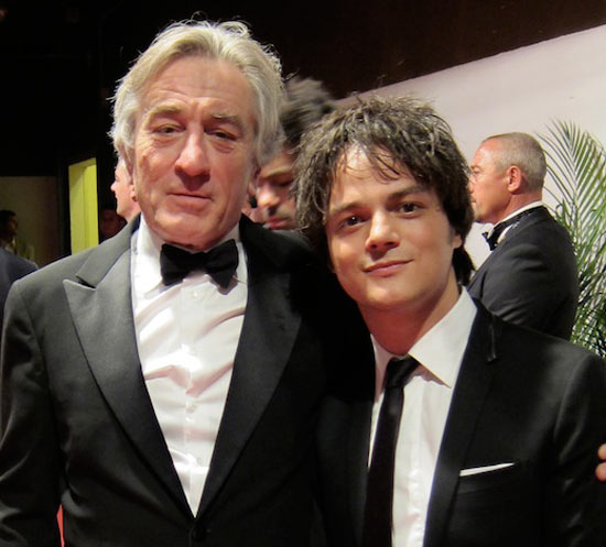 Robert De Niro and Jamie Cullum
