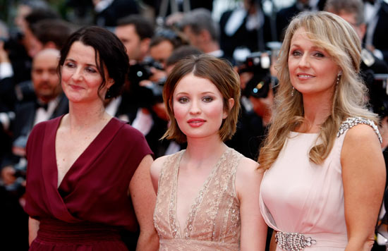 Julia Leigh, Emily Browning and Rachael Blake
