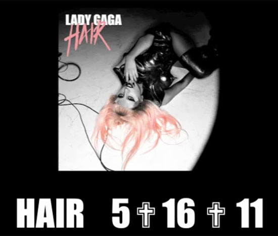 Lady GaGa, Hair