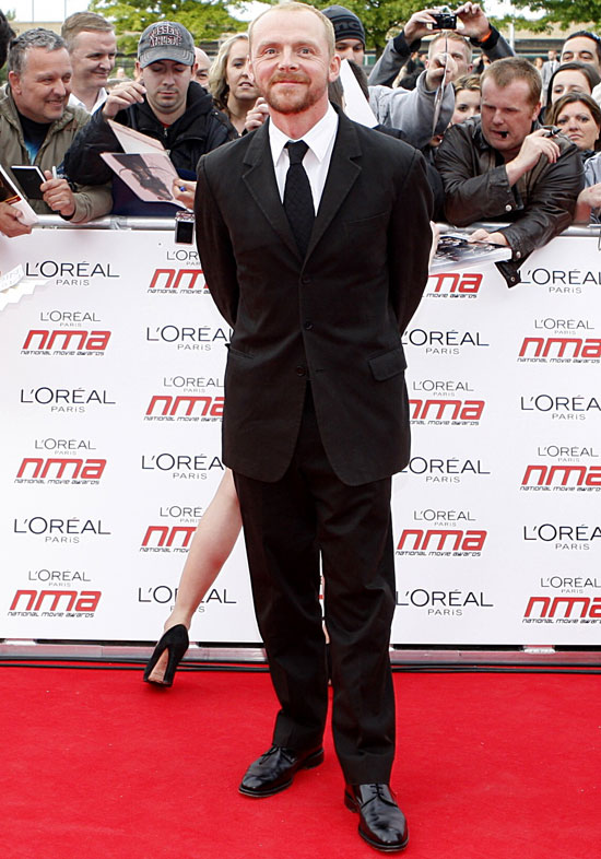 Simon Pegg National Movie Awards