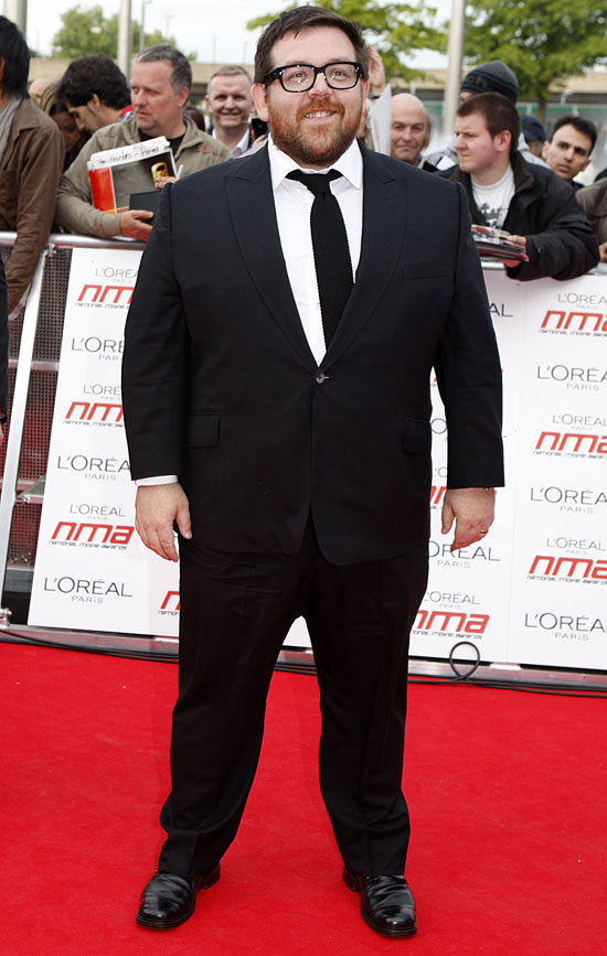 Nick Frost National Movie Awards
