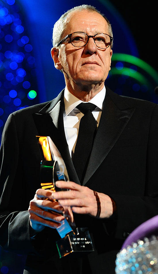 Geoffrey Rush NMA winner