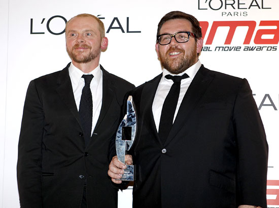Simon Pegg and Nick Frost NMAs