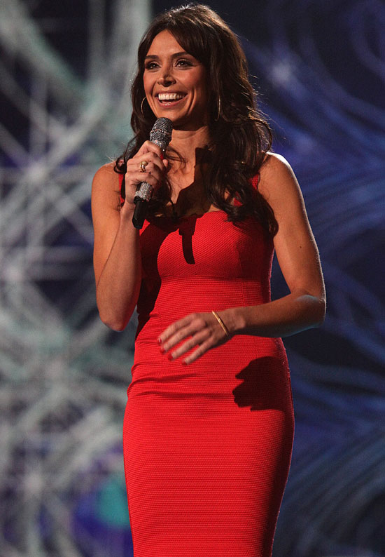 Christine Bleakley NMAs host
