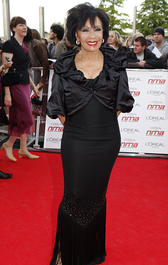 Shirley Bassey National Movie Awards