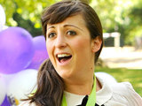 Natalie Cassidy and her daughter launch Barnardo's Big Toddle at Battersea Park