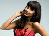 Jameela Jamil from T4