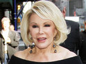 Joan Rivers and her daughter Melissa are almost injured in an accident in New York.