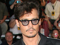 Johnny Depp says that working with Keith Richards recently made him feel like a rock star.