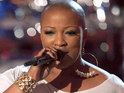 Frenchie Davis talks about being coached by Christina Aguilera on The Voice and her American Idol past.