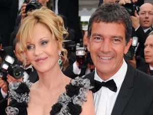 Melanie Griffith and Antonio Banderas at the Cannes Film Festival