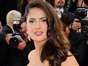 Salma Hayek at the Cannes Film Festival