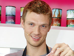 Nick Carter of Backstreet Boys at &#39;Cook and Talk&#39; in Berlin