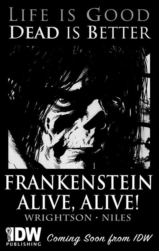 'Frankenstein Alive, Alive'
