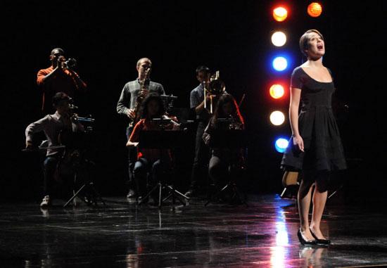 Rachel performs
