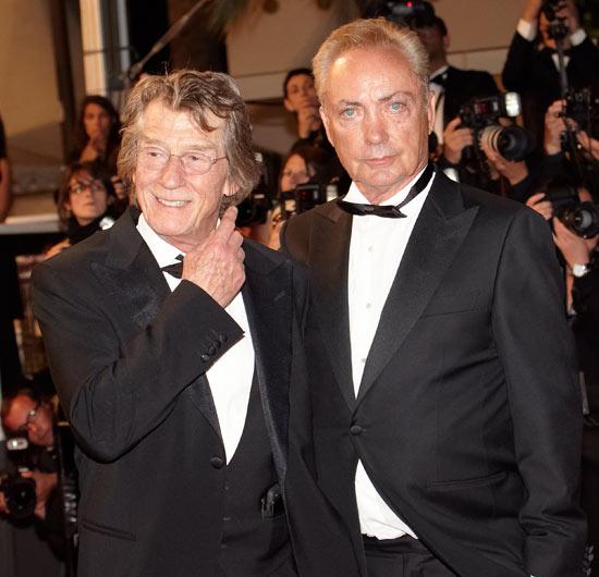 John Hurt and Udo Kier