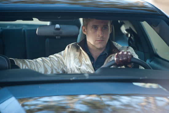 Ryan Gosling gets behind the wheel