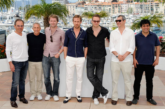 The 'Drive' team in Cannes