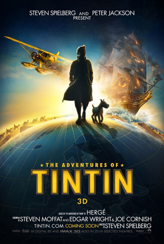 'Tintin' International Poster