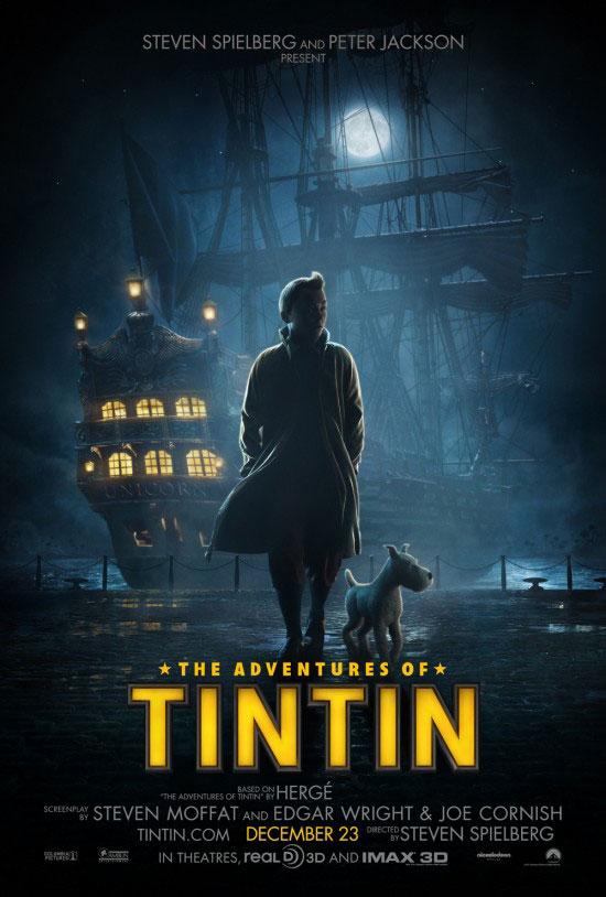 'Tintin' UK Poster