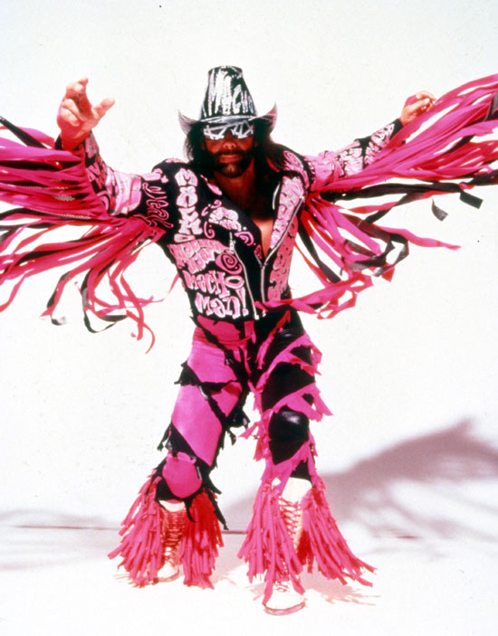 Macho Man Randy Savage - In Pictures