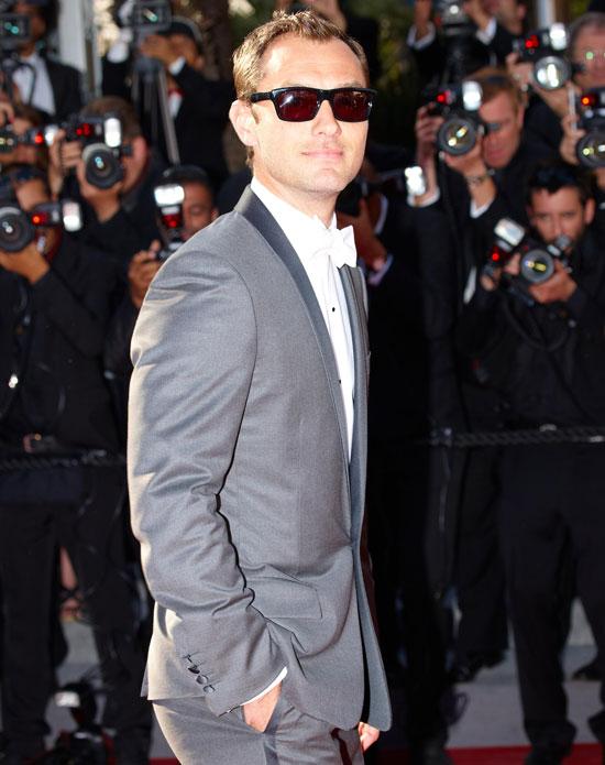 Cannes juror Jude Law.