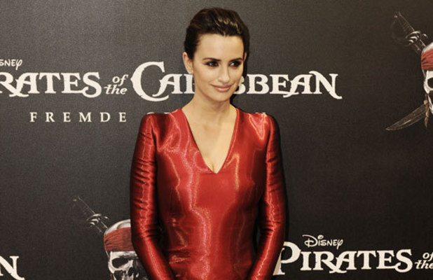 Penelope Cruz at the German premiere of 'Pirates of The Caribbean: On Stranger Tides'