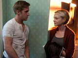 Driver (Ryan Gosling) and Irene (Carey Mulligan) from 'Driver