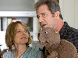 Jodie Foster and Mel Gibson in 'The Beaver'