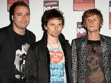 Muse: Christopher Wolstenholme, Matt Bellamy and Dominic Howard