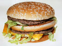 The fast food chain shows how it digitally alters its burger for filming adverts.
