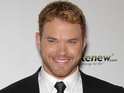 Breaking Dawn star Kellan Lutz says that it rained all though the film's wedding sequence.
